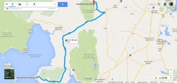 Chambok Map